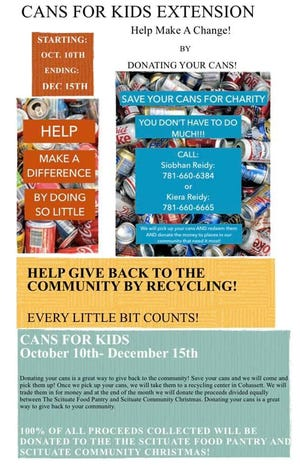 Cans for Kids flyer.