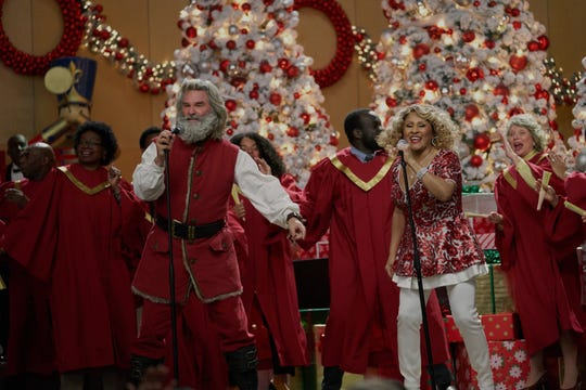 "Kurt Russell and Darlene Love duet in Netflix's ""The Christmas Chronicles: Part Two."""