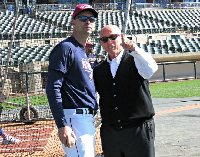 Brett Jodie, left, and Steve Kalafer.