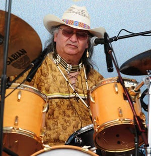 Richie Plass was a familiar face behind the drums of the Wolf River Band and Flying Feather Band for many years. He died Nov. 7 at age 69.