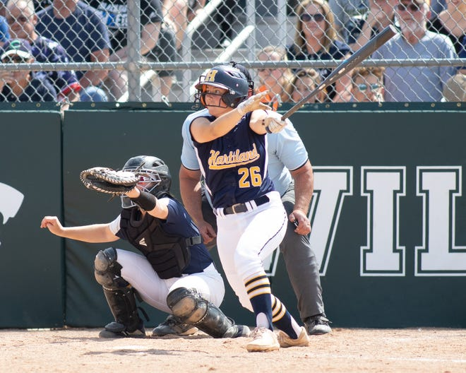 Hartland shortstop Delaney Robeson has signed with Kent State.
