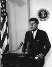 President John F. Kennedy addresses Congress in 1962 about the need to protect the public from prescription drugs and other products.