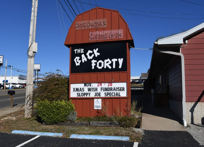 The Back Forty will hold a sloppy joe fundraiser next week to benefit the Christmas Wish program.