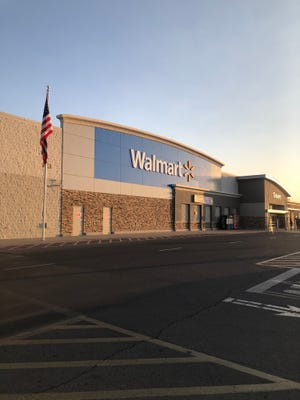 The Walmart on Rinconada Boulevard in Las Cruces was ordered closed for two weeks beginning Wednesday, Nov. 18, 2020.