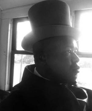 York's Calvin Weary as William Henry Johnson in the Discovery Channel film Gettysburg: The Speech That Saved America.
