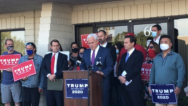 American Conservative Union Matt Schlapp talks about a new lawsuit aimed at declaring Donald Trump the presidential winner in Nevada.