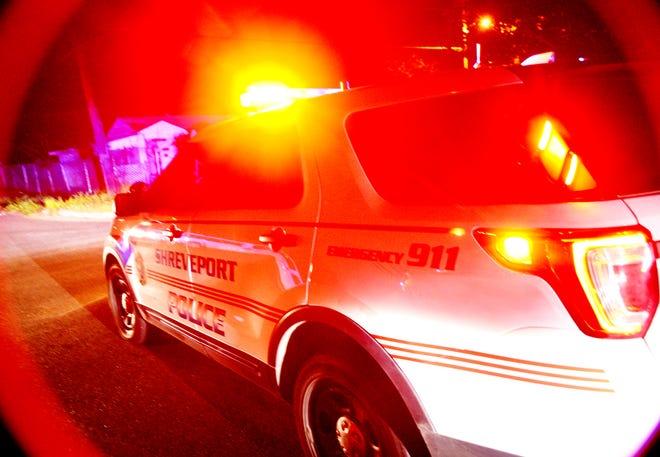 Shreveport police on the scene.