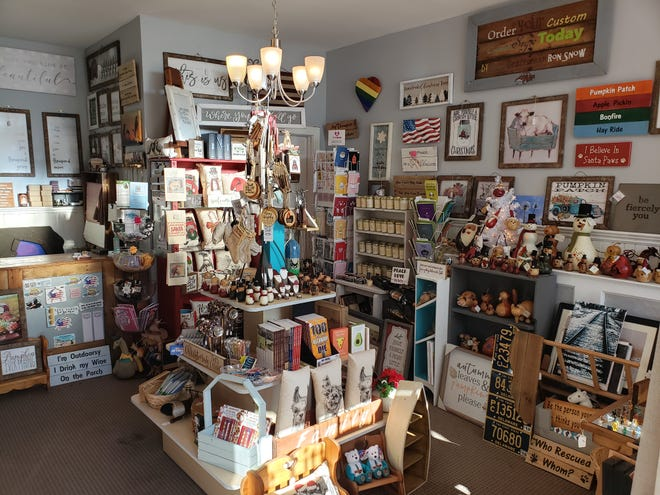 The Little Emporium, a Middletown store selling home decor and handcrafted gifts, is allowing no more than four people at a time inside because of COVID-19. Small Business Saturday is typically its busiest day of the year.