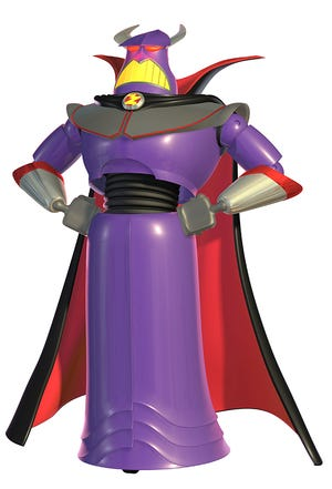 "Evil Emperor Zurg has plenty in common with Darth Vader from ""Star Wars."""