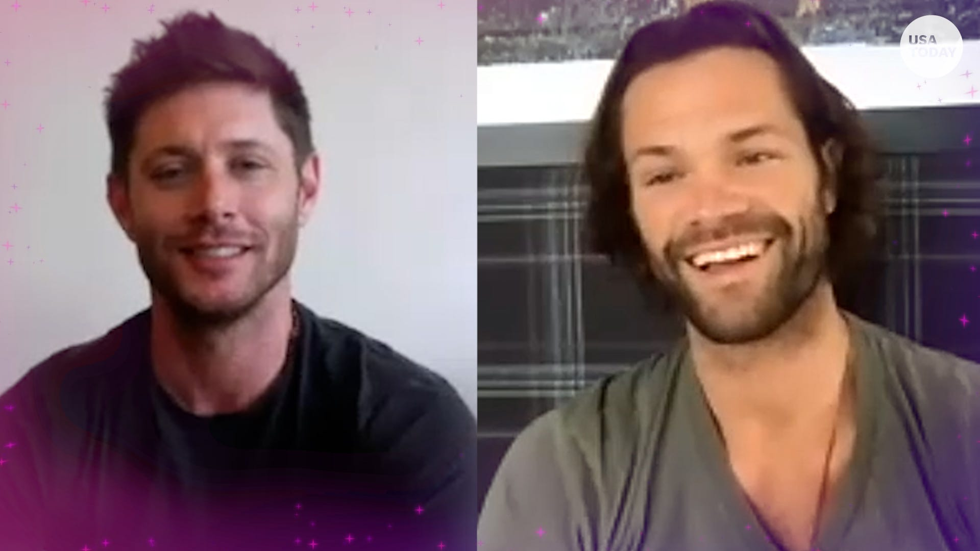 'Supernatural' stars Jensen Ackles and Jared Padalecki on the show's final day
