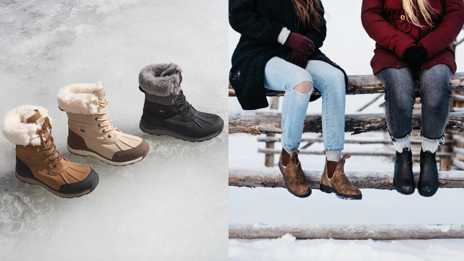 winter boots for 2020: Ugg, Blundstone