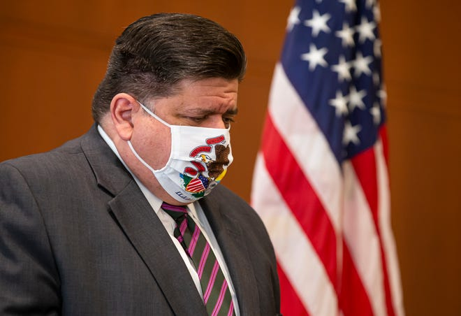 In this Sept. 21, 2020, file photo, Illinois Governor JB Pritzker appears at a news conference in Springfield. Register-Mail columnist Naomi Law writes about finding some positivity in a year filled with negative news.