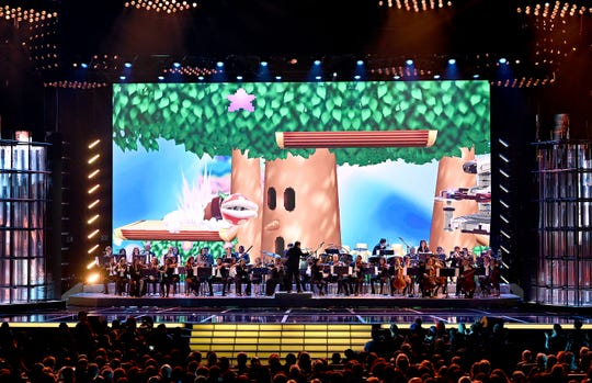 During The Game Awards at the Microsoft Theater in Los Angeles on December 12, 2019, The Game Awards Orchestra played.