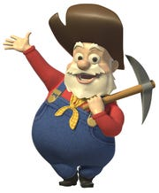 Stinky Pete the Prospector, voiced by Kelsey Grammer, seems like a nice old toy before his ulterior motives are revealed.