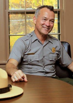 Craig Kenkel, the superintendent of Cuyahoga Valley National Park
