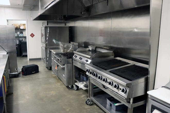 Plans are being made to cook all of the meals at Hodgetown for the Salvation Army's community-wide Thanksgiving lunch which is at 11 a.m. Thursday at the Amarillo Civic Center Complex.  [Neil Starkey / For the Amarillo Globe-News]