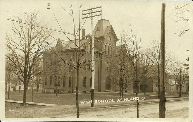 Central High School in Ashland that was built in 1874.