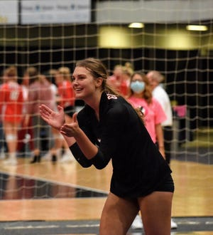 Gilbert senior Thea Rotto was named second-team all-state in Class 4A for volleyball by the Iowa Girls Coaches Association in 2020. Rotto helped lead Gilbert to the Raccoon River Conference title and its first-ever state tournament berth.