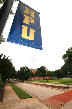 Howard Payne University sign at the Brownwood campus.