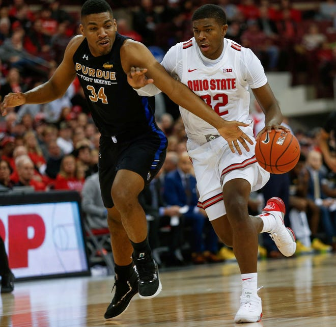 Ohio State forward E.J. Liddell is counting on having the ball more often during his sophomore season.