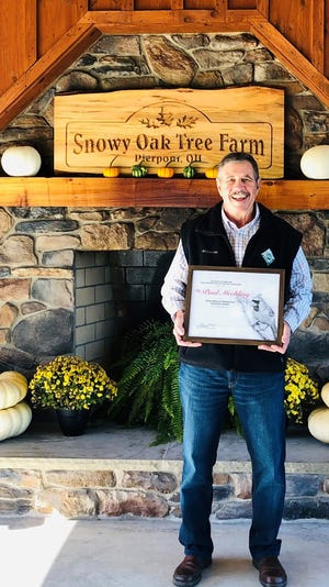 Dr. Paul Mechling was  awarded the Cardinal Award by the Ohio Department of Natural Resources for his contributions to conservation of Ohio's natural resources.