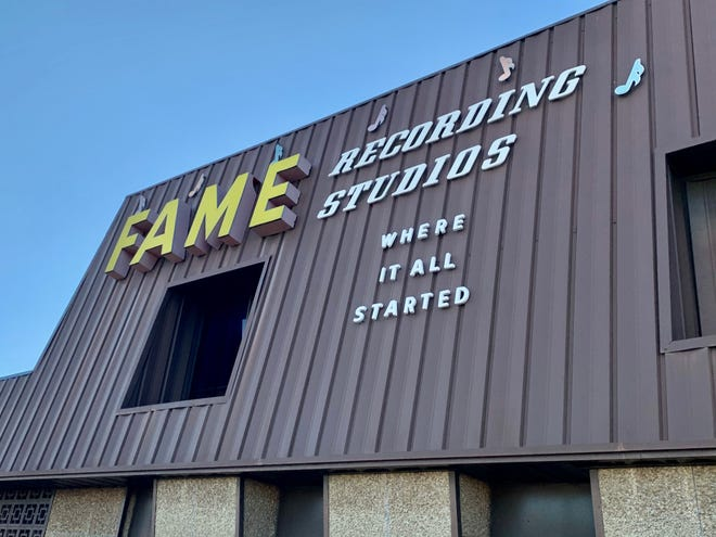 "FAME Studios is located in Muscle Shoals, Alabama. Founded in 1961, the studio is renowned as a ""hitmaker machine,"" producing several gold-selling singles and albums from artists like Aretha Franklin."