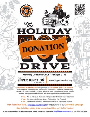 The Holiday Donation Drive is underway. Registration closes midnight Nov. 21.