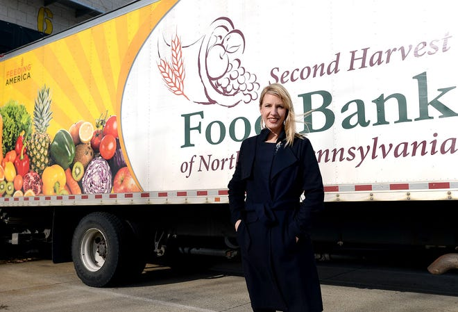 CEO Karen Seggi said Second Harvest Food Bank of Northwest Pennsylvania saw 1,800 new families seek assistance obtaining food in October.