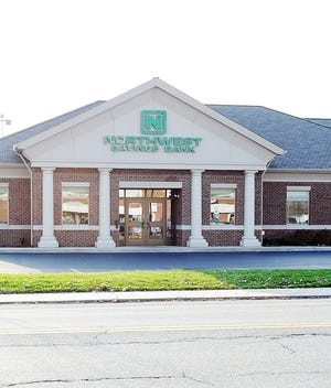 The Northwest Bank office at 850 Pittsburgh Ave. is shown in this 2012 file photo. The bank has announced lobbies will be open by appointment only.