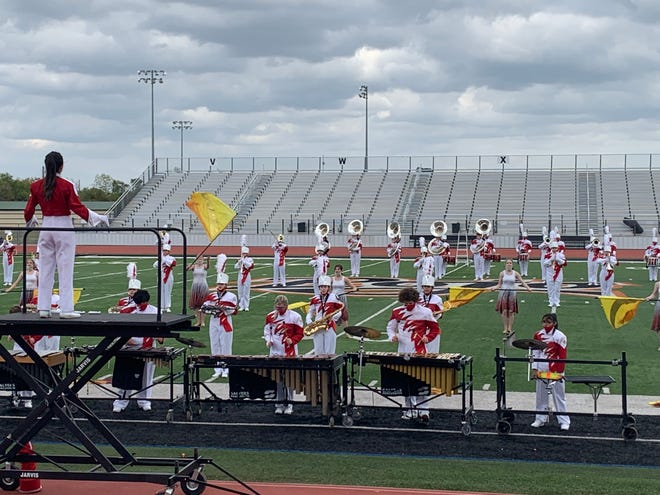 The Glen Rose Tiger Pride Marching Band earned a Division 1 Ranking at the UIL Region Competition on Saturday in Springtown.