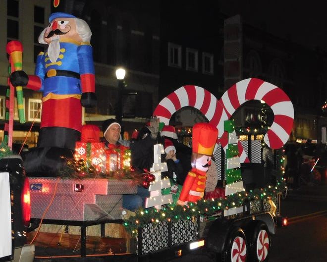 The Denison Chamber of Commerce announced that it will transition its annual Christmas parade into a static display for 2020. Rather than parading through downtown, visitors will instead drive through the holiday displays on Dec. 3.