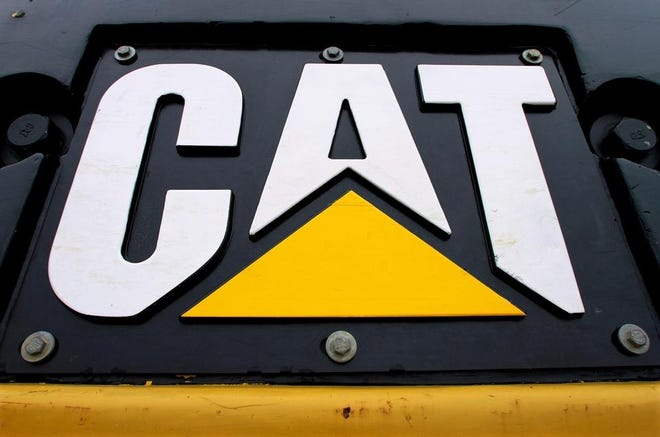 This is an image from a Caterpillar Inc. machine.