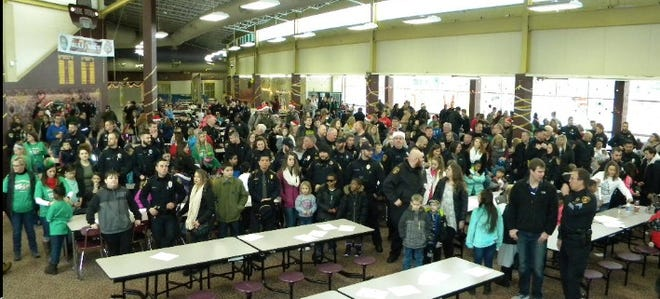 Stow Police Department's annual Shop with a Cop is typically a huge event. This year's program is being scaled back in response to the COVID-19 pandemic.