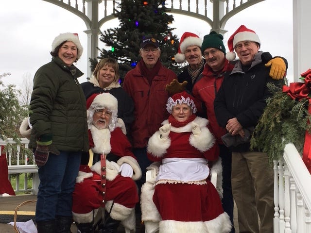 Santa on the Green, sponsored by the Rotary Club of Hudson, is a long-standing tradition in Hudson started more than 45 years ago. Unfortunately, the COVID-19 pandemic has resulted in the cancellation of this year's event.