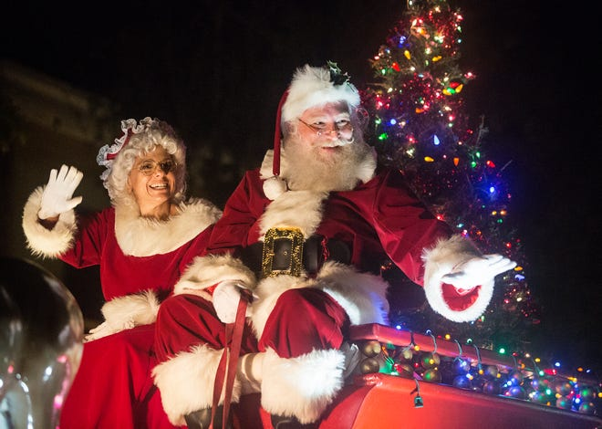 It won't quite be like the annual Lakeland Christmas Parade, but children can have a socially distanced photo taken with Santa during the Holiday Decorating Contest at the RP Funding Center.