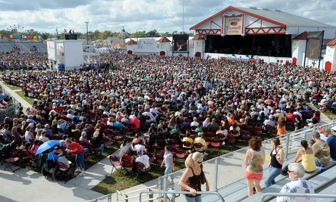 The Strawberry Festival said Thursday it will not hold concerts in the stadium in 2021, citing safety concerns amid the COVID-19 pandemic.