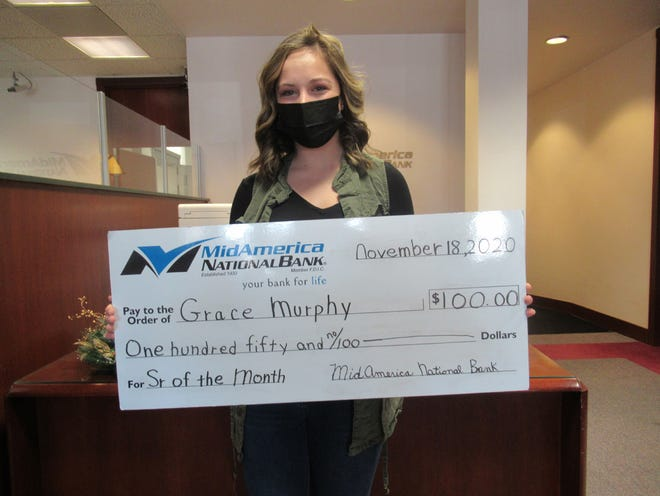 Grace Murphy has been named the MidAmerica Senior of the Month for November