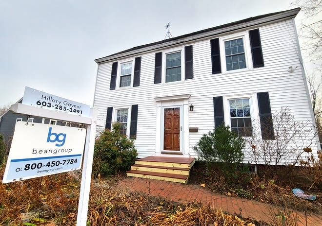 A home for sale this week on Thornton Street in Portsmouth's North end.
