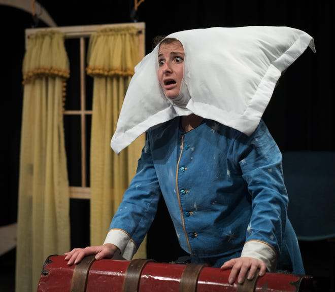 """Gemma Soldati stars in """"The Adventures of Sleepyhead,"""" which runs this weekend at the New Hampshire Theatre Project in Portsmouth."""