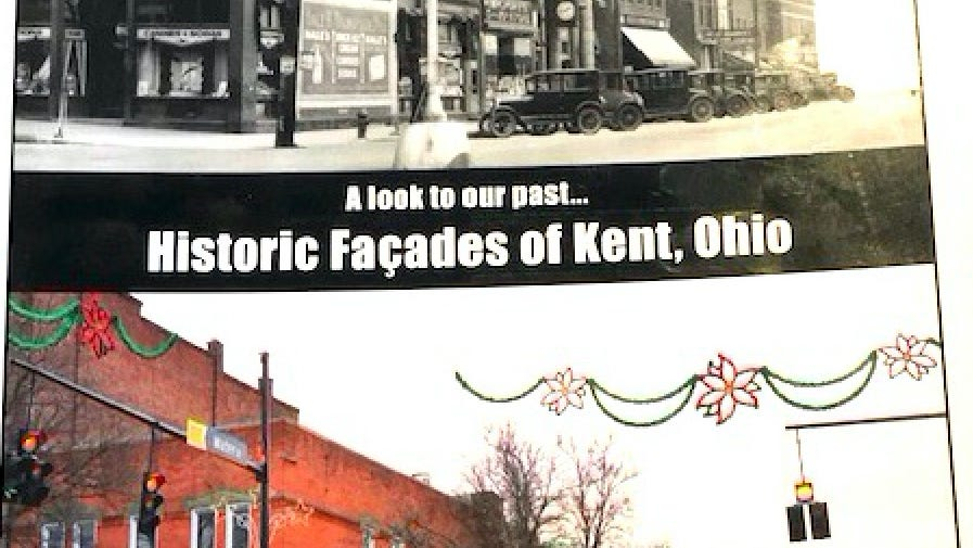 """Along the Way: In time for the holidays: """"Historic Façades of Kent, Ohio"""" - Record-Courier"""