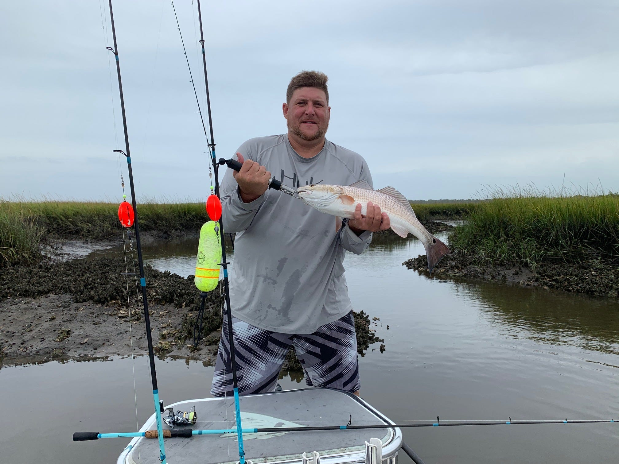 Jim Sutton says dropping temps good sign for fishing
