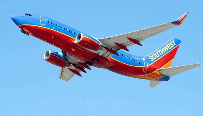 Southwest Airlines announced that it will serve Houston, Nashville, Baltimore and Chicago at Sarasota-Bradenton International Airport.