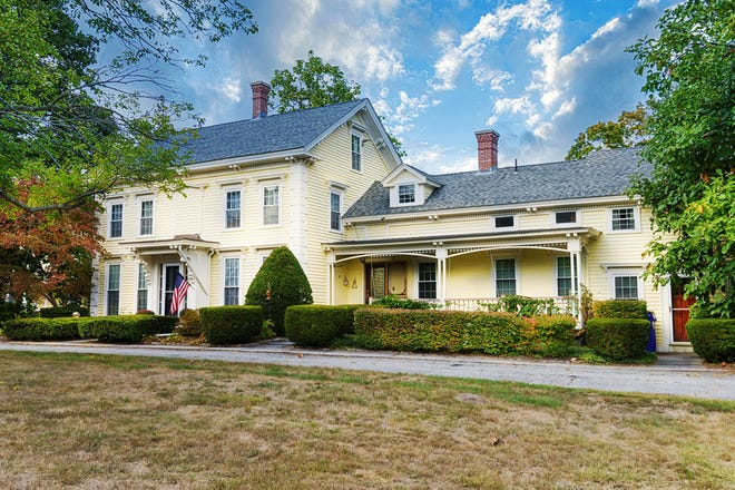 This completely renovated 1825 Victorian estate on 5.28 acres in Millville offers an accessory apartment, carriage house, barn, courtyards, gardens, and a private pond. View a photo galley at telegram.com.