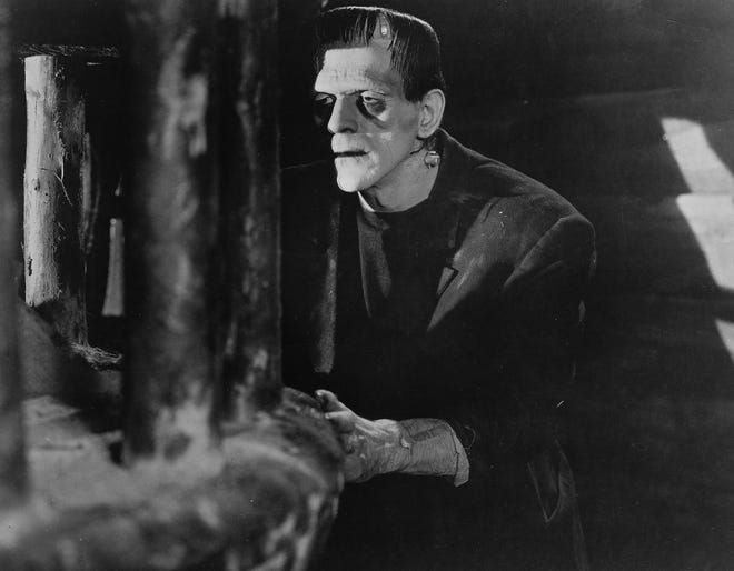 "In 1931, the Universal horror film ""Frankenstein,"" starring Boris Karloff as the monster and Colin Clive as his creator, was first released."