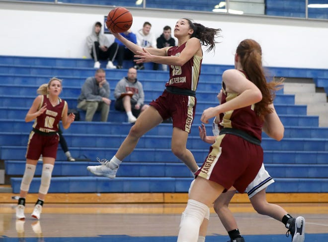 Senior guard Danielle Grim is one of the top returnees for the Watterson girls basketball team and first-year coach Sam Davis, who also led the Eagles from 1978-86.