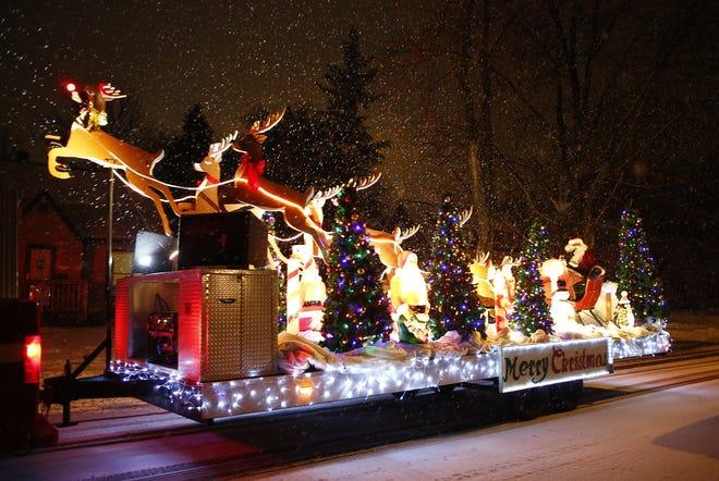 The Neenah-Menasha Santa float has been bringing Christmas joy to young and old since the 1950s.