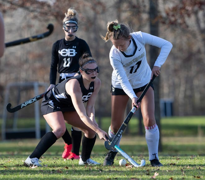Southern Regional Girls Field Hockey shuts out Old Bridge in NJSIAA Central East D Semifinals.
