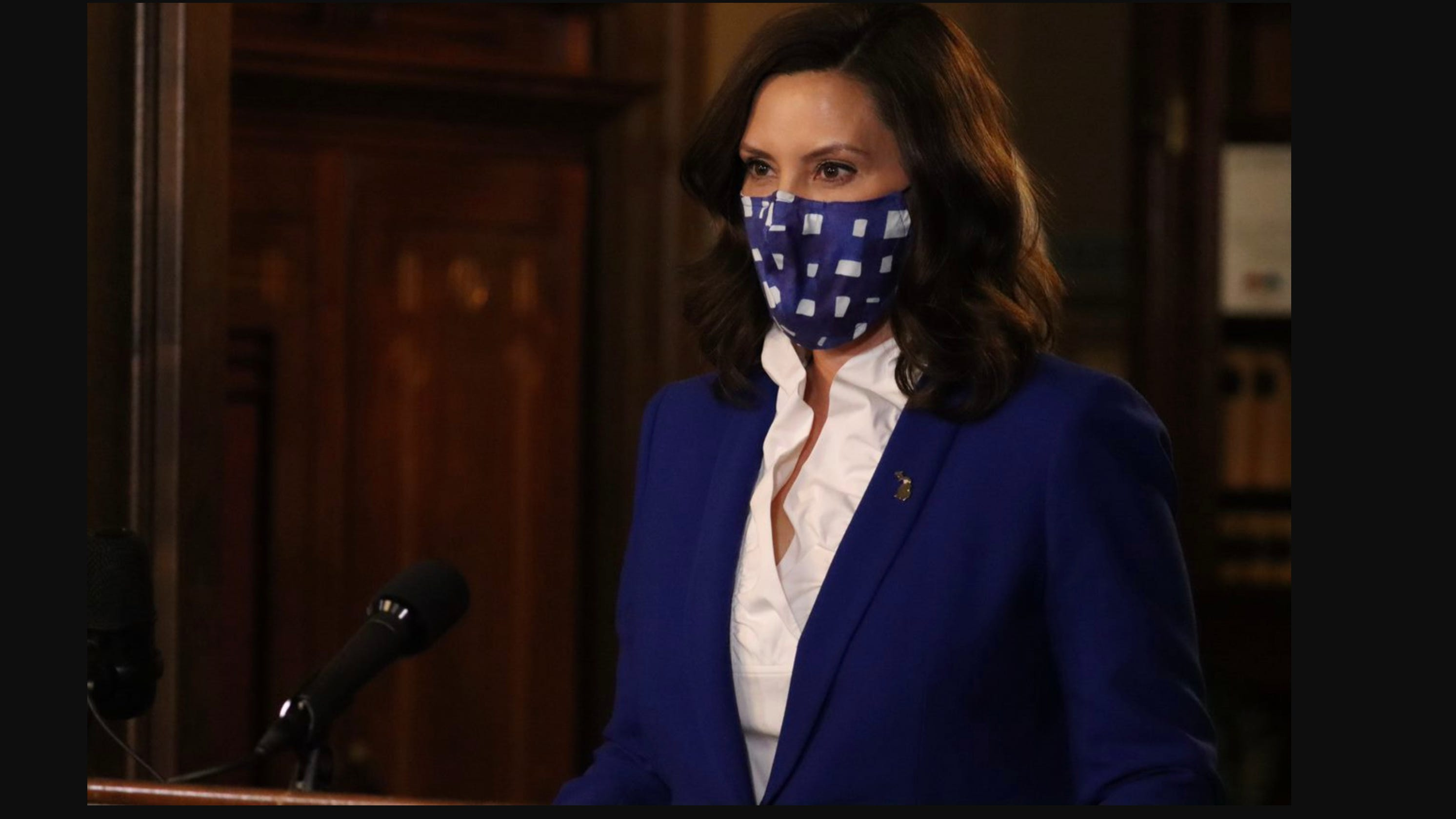 Whitmer releases video urging Michigan families not to gather for Thanksgiving
