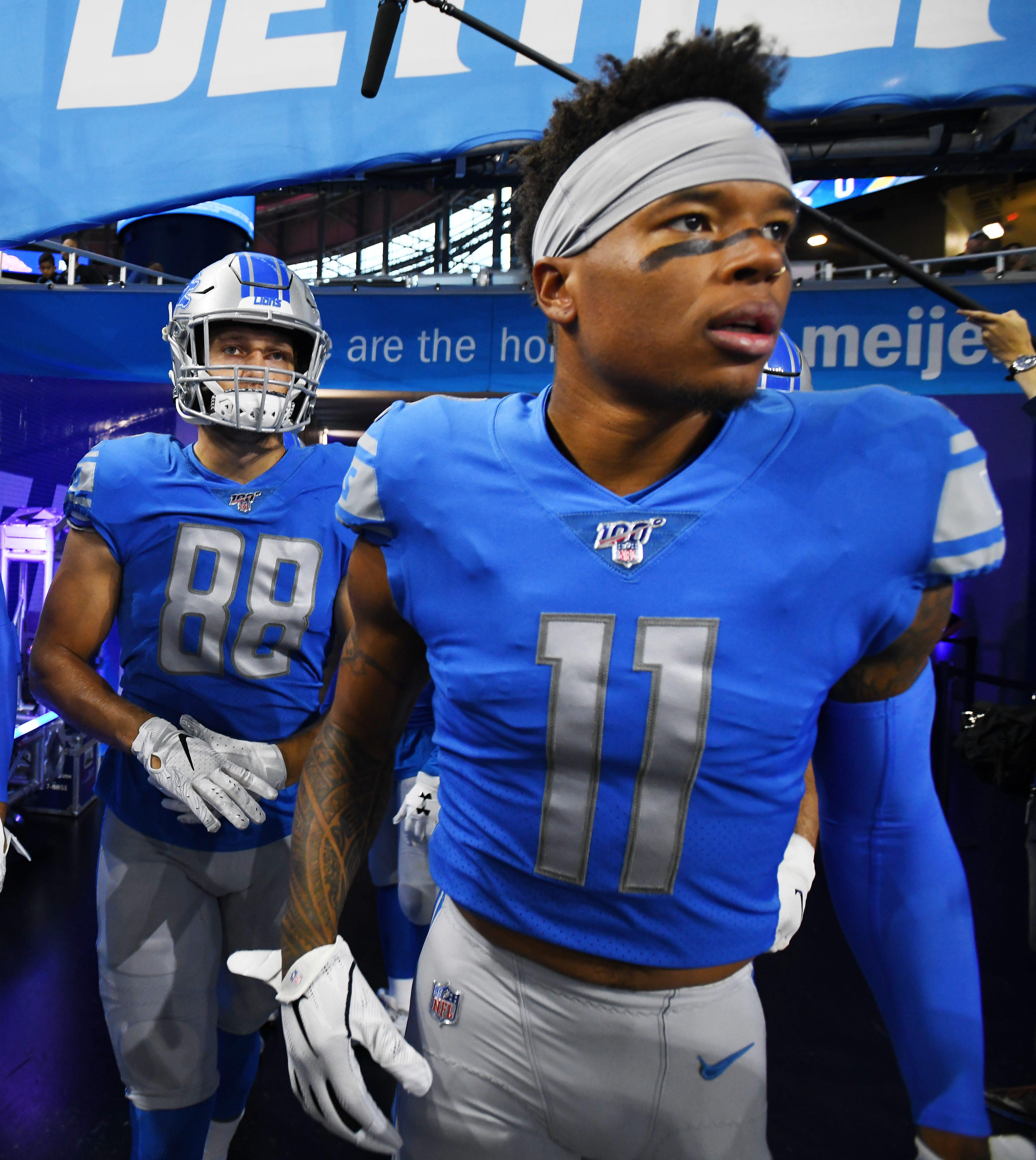 Detroit Lions' Marvin Jones Jr. shares struggles after death of son