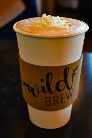Wild Brew coffee shop offers a selection of seasonal coffees in Clyde.
